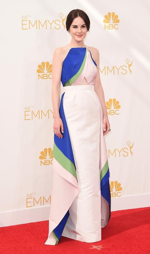 Michelle Dockery Rosie Assoulin Emmys Dress