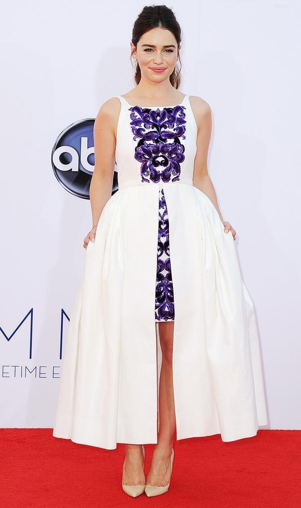 Emilia Clarke Chanel Emmys Dress