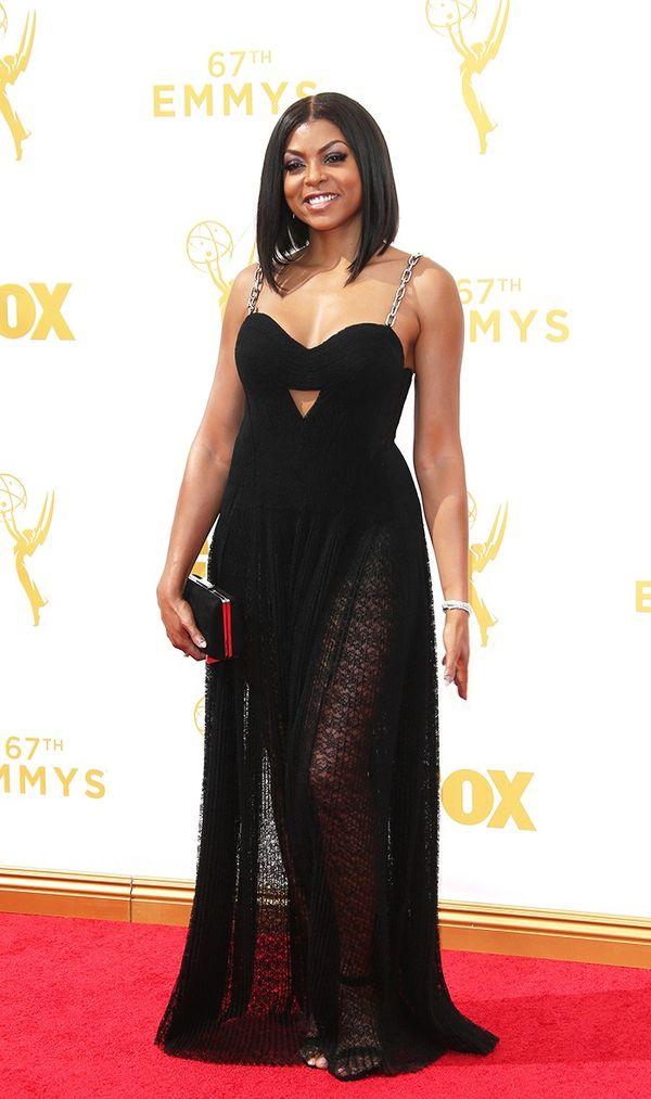 Taraji P Henson Alexander Wang Emmys Dress