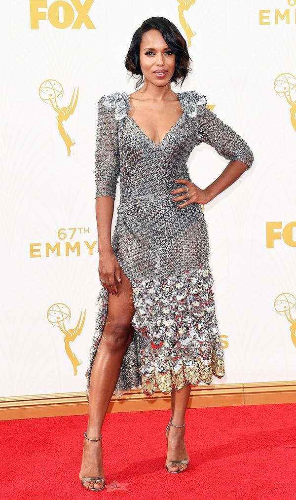 Kerry Washington Marc Jacobs Emmys Dress