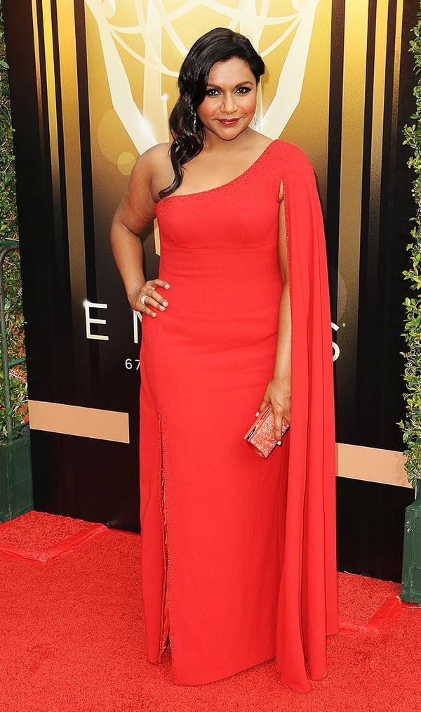 Mindy Kaling Emmys Dress