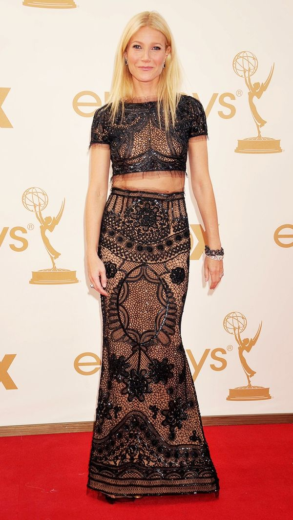 Gwyneth Paltrow matching set emmys