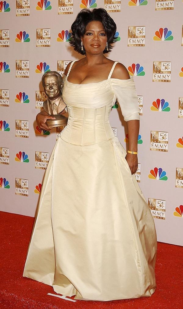 Oprah Winfrey 2002 emmys dress