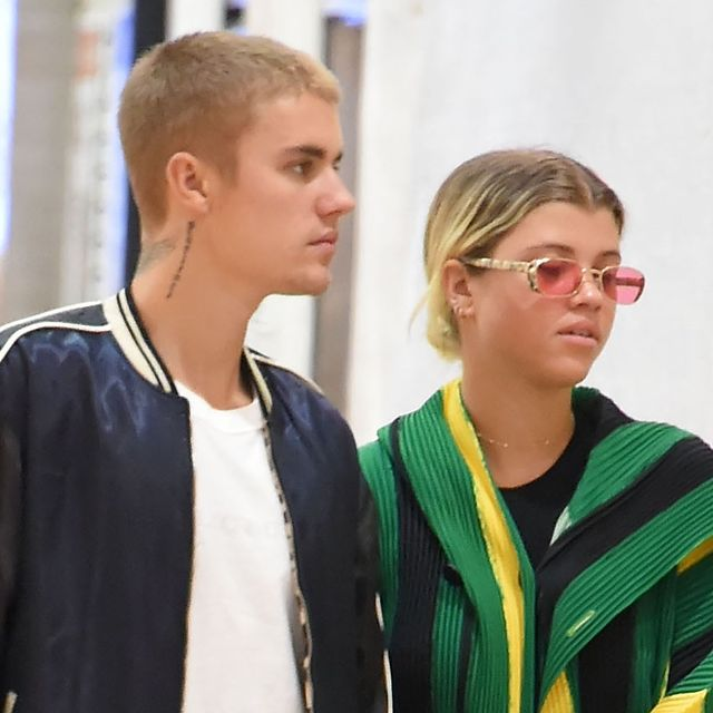 Sofia Richie and Justin Bieber Wore Matching Airport Outfits in Tokyo