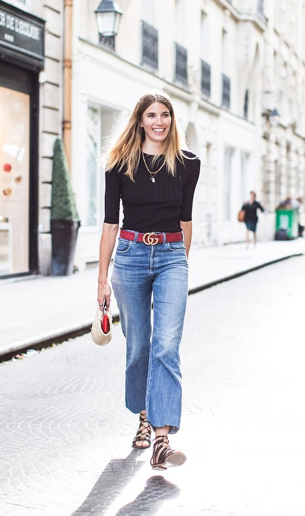What to Wear With High-Waisted Jeans | WhoWhatWear