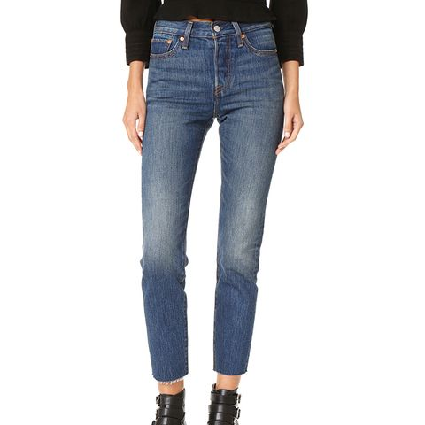 what to wear with highwaisted jeans whowhatwear