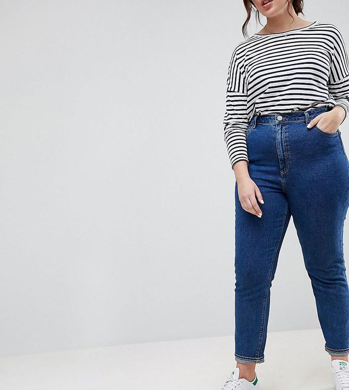 13 High Waisted Jean Outfits | Who What