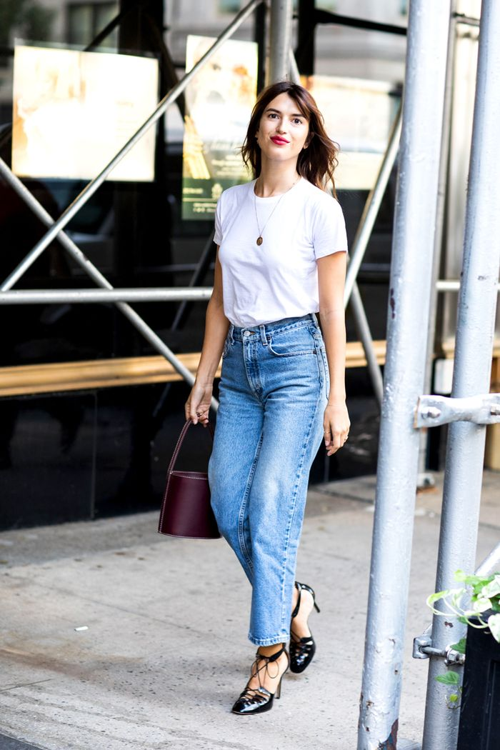 13 High-Waisted Jean Outfits | Who What