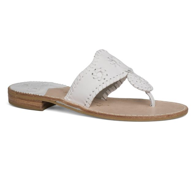 Jack Rogers Palm Beach Sandals in White