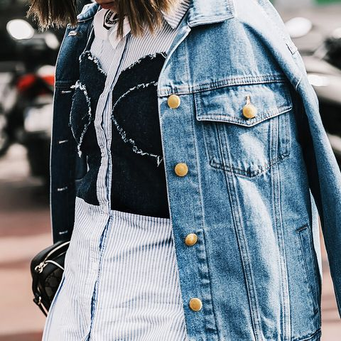 We Found a New Way to Wear Denim on Denim This Spring