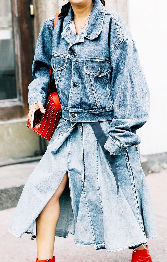 Denim outfits for Spring