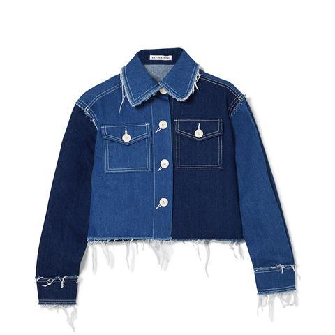 Tessa Frayed Denim Jacket