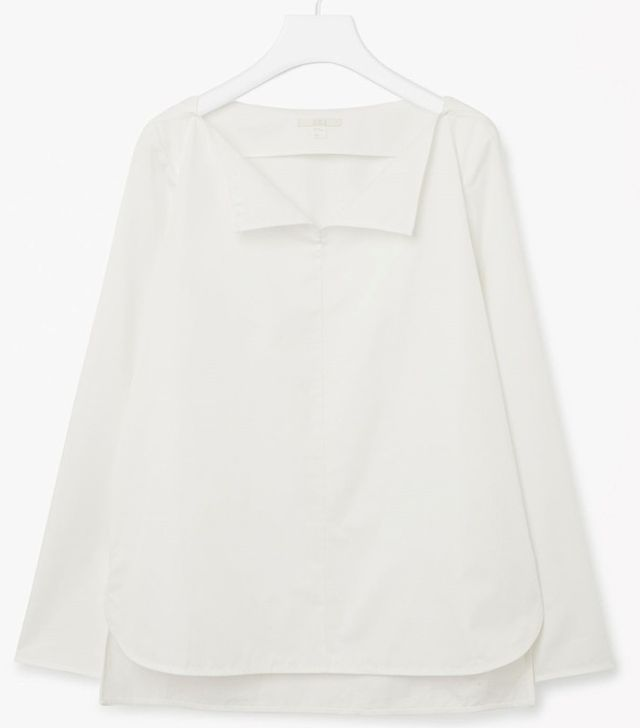 Cos Cotton Poplin Top