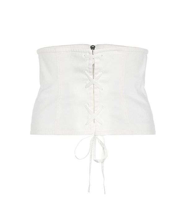 Prada Cotton-Blend Twill Corset