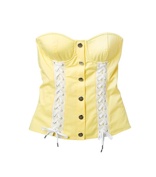 Love Moschino Lace-Up Corset