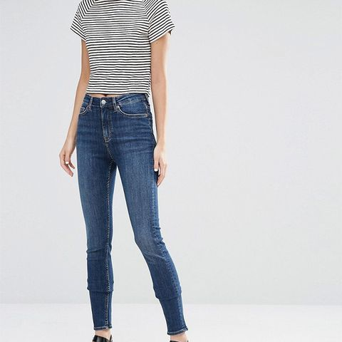 Thursday High Waist Skinny Jeans