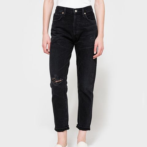 Liya Jeans in Distressed Outsider
