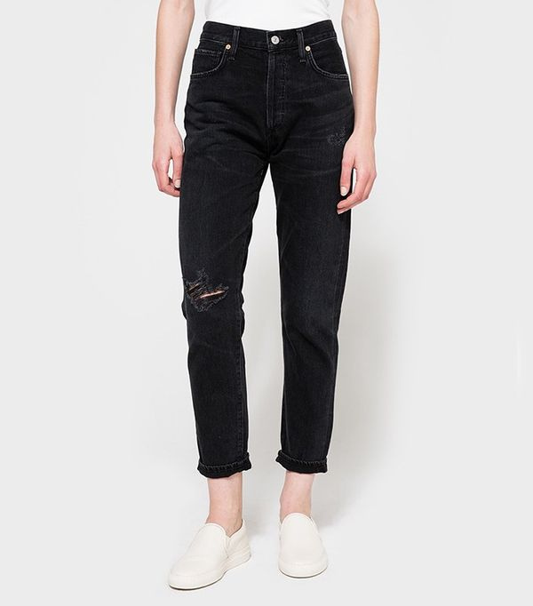 Citizens Of Humanity Liya Jeans in Distressed Outsider