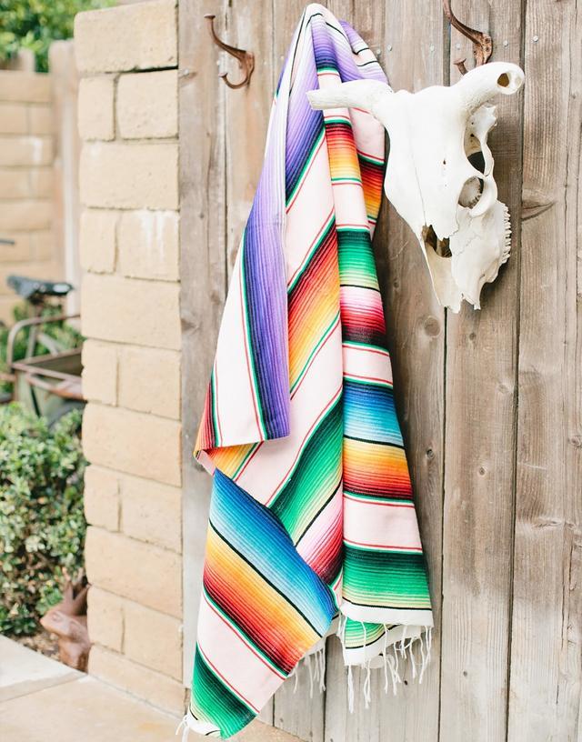 Colorful Serape Blanket