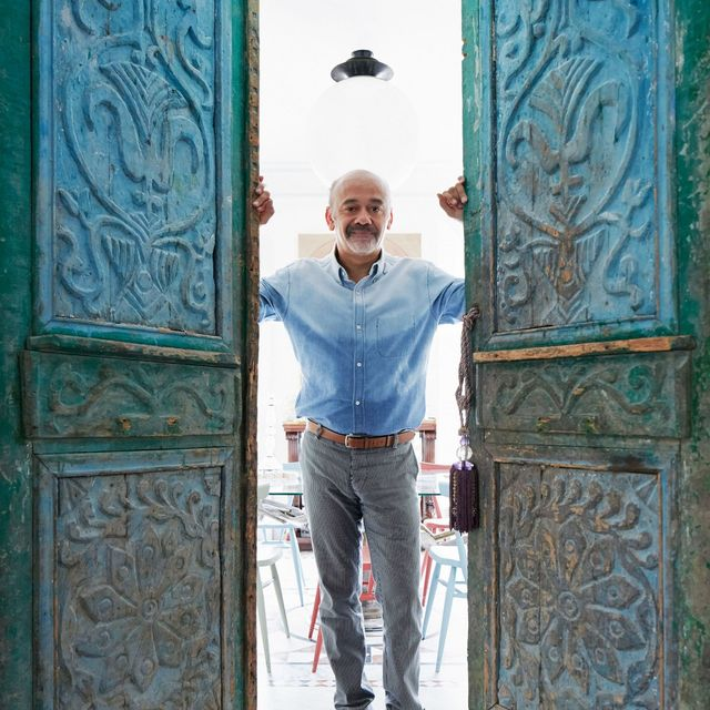 Step Inside Christian Louboutin's Stunning Parisian Apartment