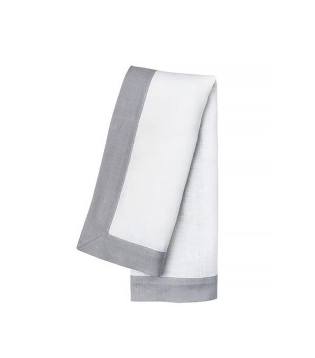 Simple Life Instanbul Gray Agrilla Set of Napkins