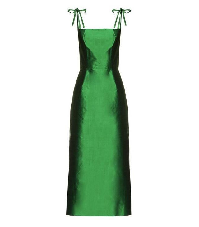 The Vampire's Wife Night Garden Silk Taffeta Dress