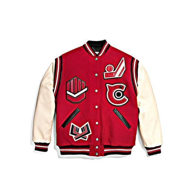 Coach Oversized Varsity Jacket