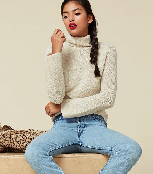 Reformation Cordelia Alpaca Sweater