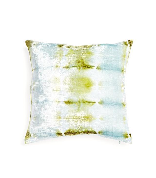 Kevin O'Brien Ice Rorschach Velvet Pillow