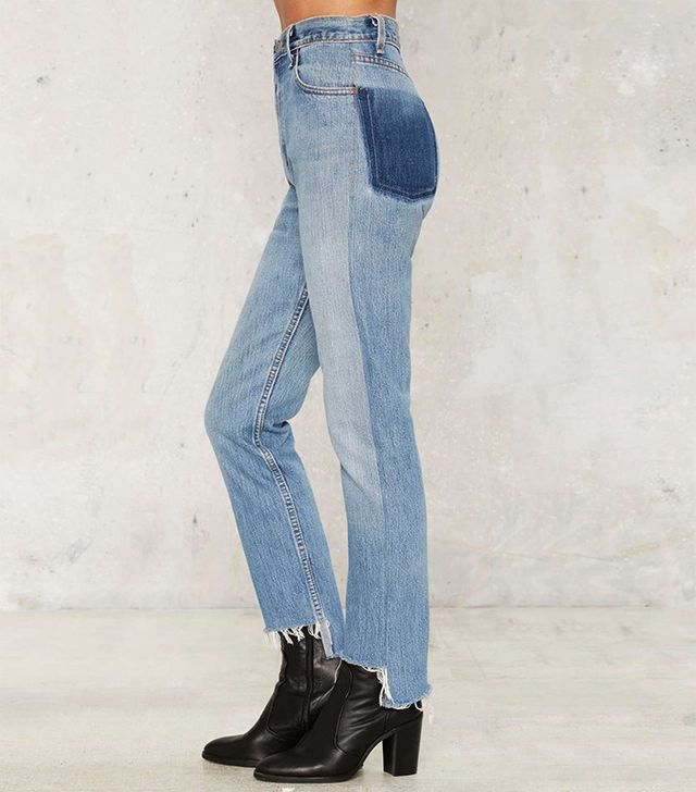 After Party by Nasty Gal Shadow or Later Levi's 501 Jeans