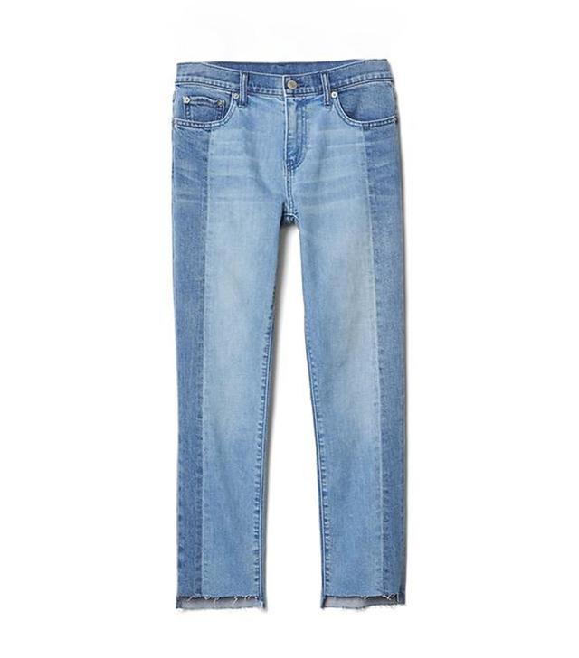 Gap Authentic 1969 Two-Tone Best Girlfriend Jeans