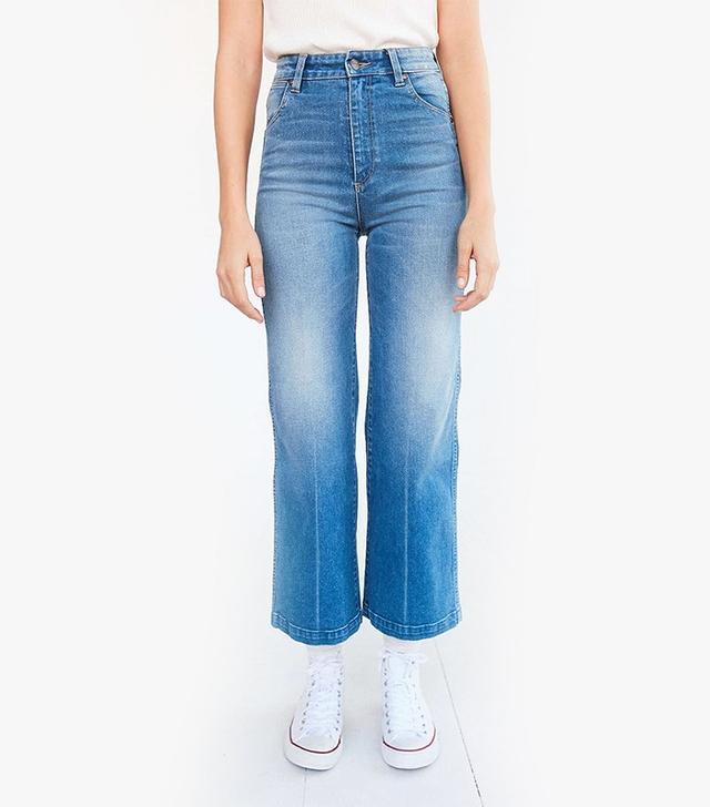 Wrangler Marfa High-Rise Cropped Flare Jeans