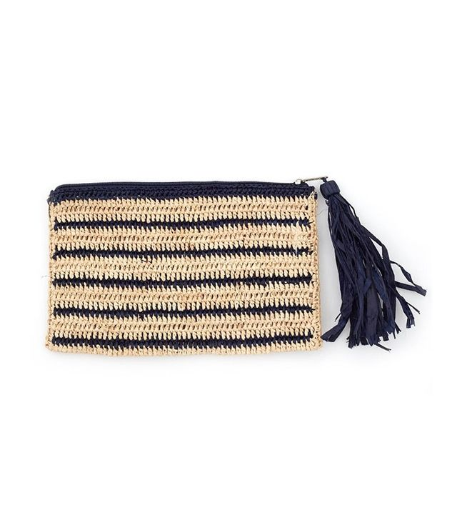 Small Woven Pouch