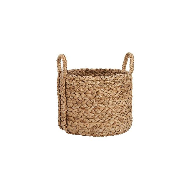 Pottery Barn Beachcomber Large Round Basket