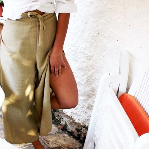 Wheat Wrap Trousers