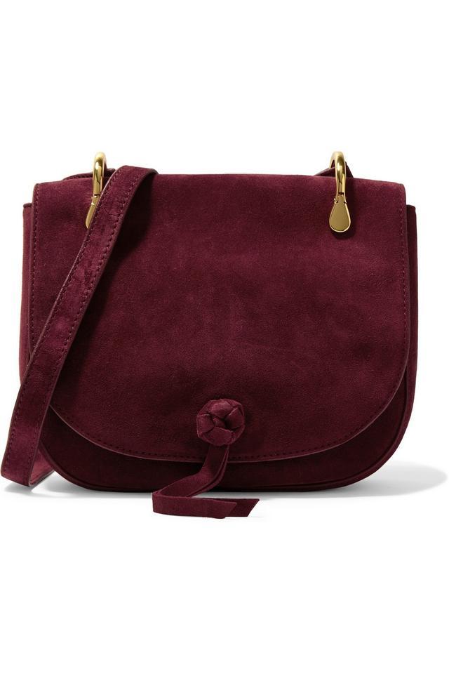 Elizabeth and James Zoe Suede Shoulder Bag