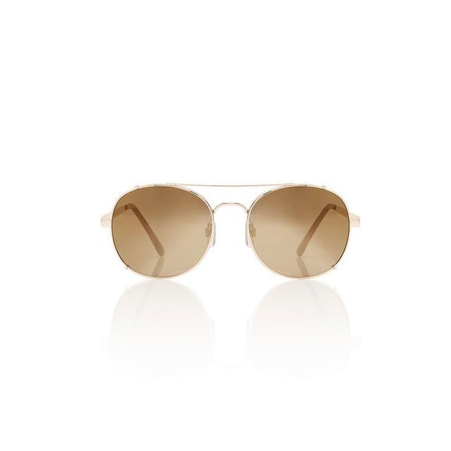 Sportsgirl Walkabout Gold Sunglasses