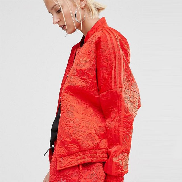 Adidas Originals Lace Bonded Bomber Jacket
