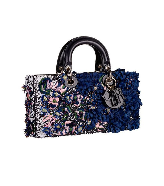 Dior Runway Bag With Embroidered Sequins and Bows
