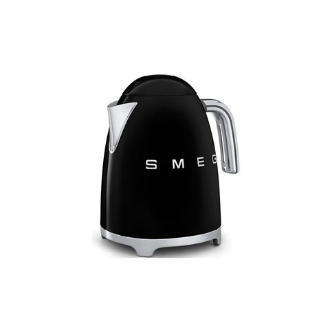 1.7L 50's Retro Style Aesthetic Electric Kettle - Black