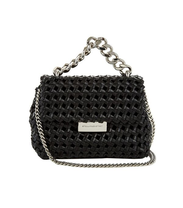 Stella McCartney Beckett Mini Faux-Leather Cross-body Bag