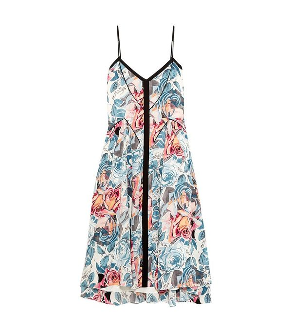 Elizabeth & James Linda Printed Silk Dress