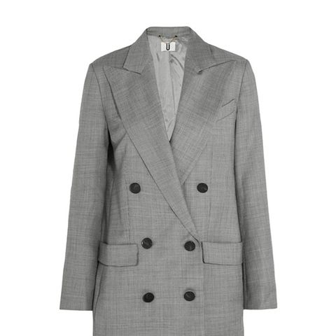Wycliffe Double-Breasted Wool-Twill Blazer