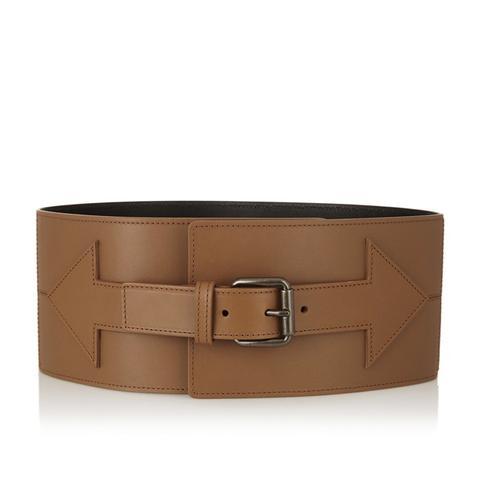 Arrow Leather Waist Belt