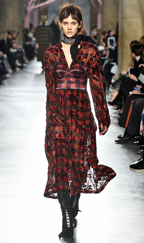 Preen by Thornton Bregazzi introduced a matching bustier and dress for fall, and we're in love.
