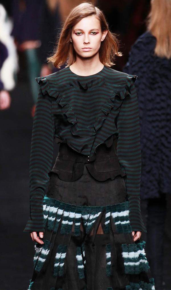 Fendi's subtle take on the trend feels effortlessly chic.