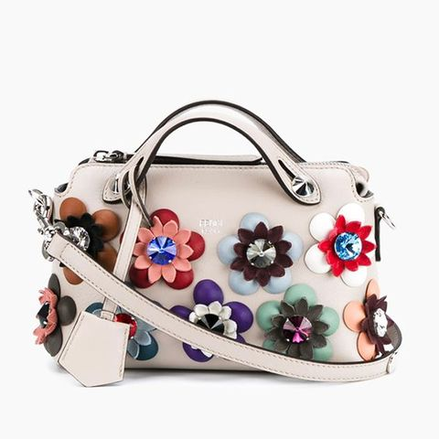Floral Embellished Mini By The Way Bag