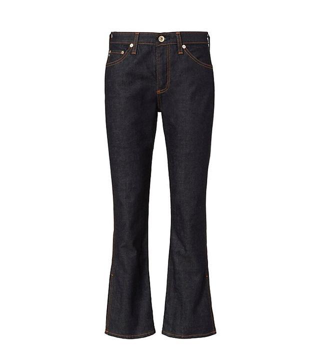 AG The Jodi Crop Side Slit Jeans