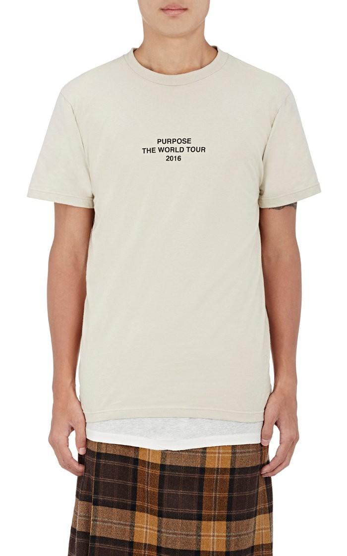 Purpose Tour XO Barneys New York Purpose Tour Barneys NY T-Shirt