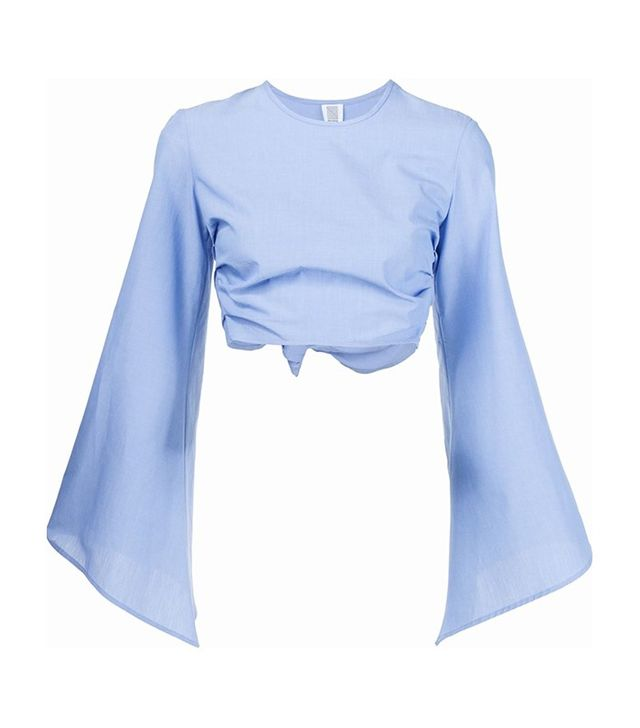 Rosie Assoulin Bell Sleeve Top